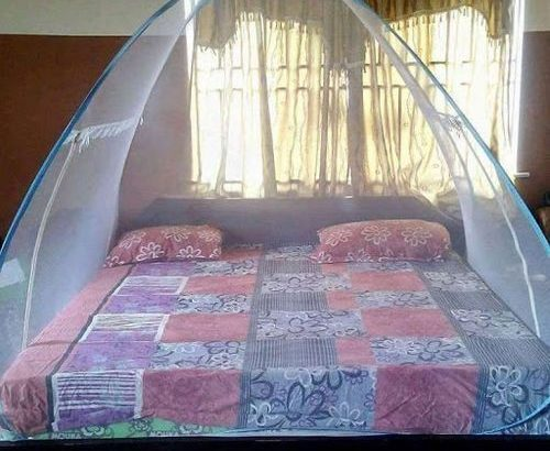 Foldable Mosquito Net Tent – 6 X 6 Bed