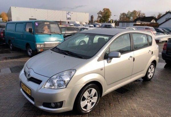 2007 Toyota Corolla Verso 1.8