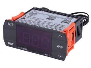 STC-3000 110V 220V Touch Digital Temperature Controller Thermostat 10A 30A Instruments With Sensor 3