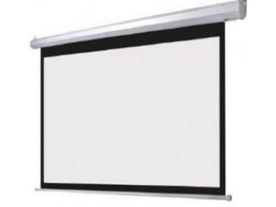72″X72″ Electric Projector Screen With Remote