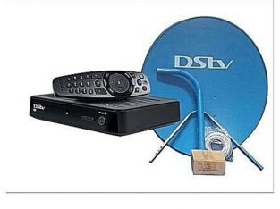 Dstv Full KIT HD Decoder – Dish Kit + One Month Free Compact Subscription