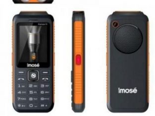 Imose Kampe III 10,000 MAh Power Bank/Triple SIM GSM Phone + Wireless FM Radio – Black (MWFS) + Anti