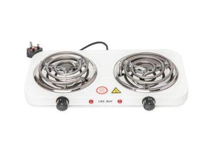 Lee Buy 2 Burner Electric Ring Hotplate Table-Top Electric Cooker