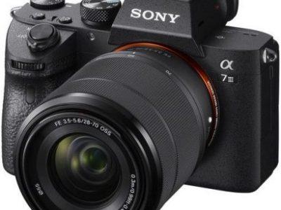 Sony Alpha A7 III Mirrorless Digital Camera With 28-70mm Lens A