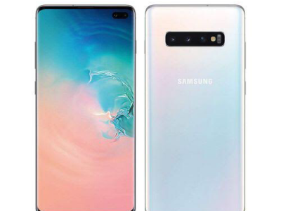 Samsung Galaxy S10 Plus (S10+) 6.4-Inch AMOLED (8GB, 128GB ROM) Android 9.0 Pie, (12MP + 12MP + 16MP