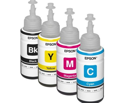 Epson T664 4 Colour Ink Bottle Set