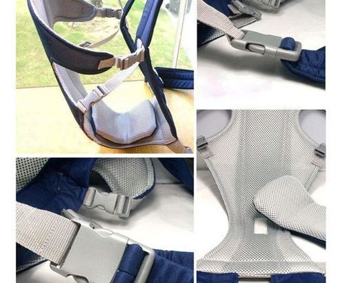 Multifunctional Baby Carrier Breathable Front Back Carrying Sling Wrap Seat