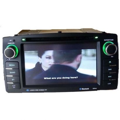 Toyota Corolla 2003-2006 Car Stereo DVD Player With Aux In, SD Slot, Bluetooth And USB Port + 170 De