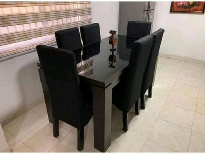 ZR Rickross Dinning Set (6 Chairs)-Free Lagos Delivery