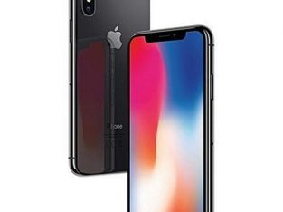Apple IPhone X 5.8-Inches Super AMOLED (3GB RAM, 256GB ROM)IOS 11(12MP+12MP)+7MP 4G LTE Smartphone-G
