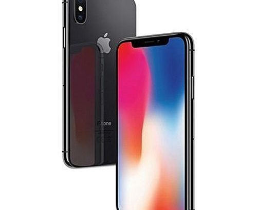 Apple IPhone X 5.8-Inches Super AMOLED (3GB RAM, 256GB ROM)IOS 11(12MP+12MP)+7MP 4G LTE Smartphone-G