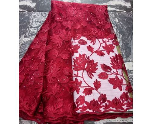 Unisex Lace Material – Wine