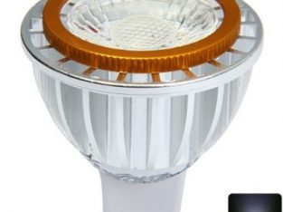 Youoklight 4W MR16 400Lm 6000K LED Light Pure White COB Spot Bulb With Golden Edge-COOL WHITE