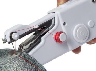 Mini Portable Electric Hand Sewing Machine + FREE Threads