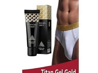 Titan Gel Penis Enlargement Cream-Gold
