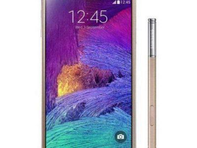 Samsung Galaxy Note 4 Duos – Bronze Gold
