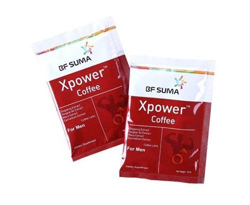 Bf Suma Xpower Coffee For Men – 8 Sachets