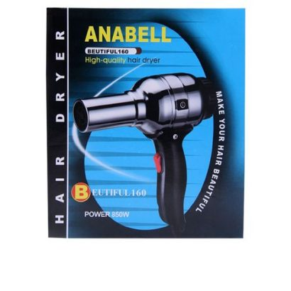 Anabell Hand Dryer Hair Dryer Colour Black Or Blue Handle