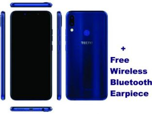 Tecno Pouvoir 3 AIR (LC6),6.2Inh Fullscreen,8MP+8MP Rear Al Camera, Android 8.1,16GBROM+1GB RAM,5000