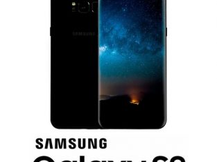 Samsung Galaxy S8 5.8 Inches (4GB,64GB ROM) Smartphone – Black