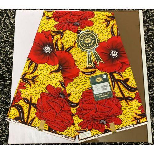 Vlisco High Quality Ankara Fabric