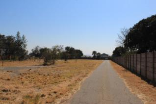 Land and plots in an estate