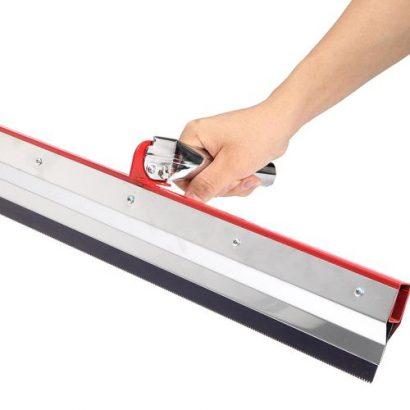 5mm Notched Squeegee Epoxy Flooring Gear Rake