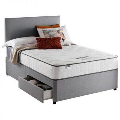 Silentnight Middleton 800 PKT Comfort 2DRW Grey Small DBL