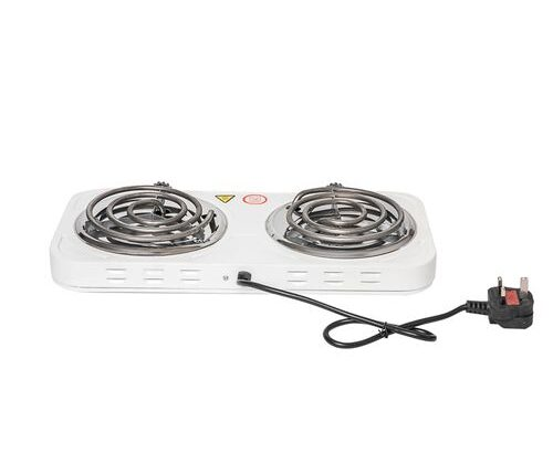 Lee Buy 2 Burner Electric Ring Hotplate Table-Top Electric Cooker