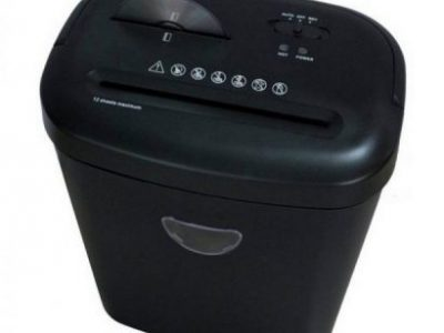 ProAction 12 Sheet 25 Litre Card and CD Cross Cut Shredder