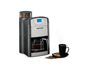 Black & Decker Drip Coffee Maker With Grinder 1000 W- PRCM500-B5
