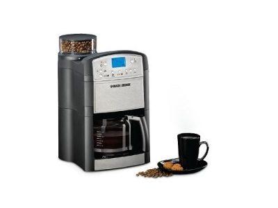 Black & Decker Drip Coffee Maker With Grinder 1000 W- PRCM500-B5