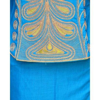 Senegalese Gowns or Blouse – Wrapper With Embroidery Design