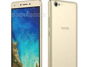 Tecno WX3 5-Inch (1GB, 8GB ROM) Android 7.0 Nougat, 5MP + 5MP Dual SIM 3G Smartphone – Champagne Gol