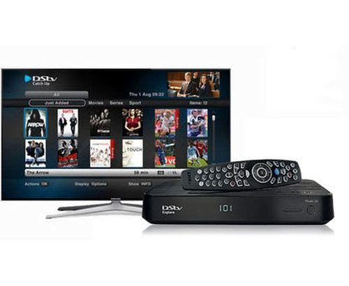 Dstv Explora 2 Decoder With Dish Accessories+compact Subscription