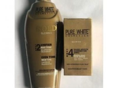 Pure White Pure White Gold Glowing Oil & Cream For Effective Whitening