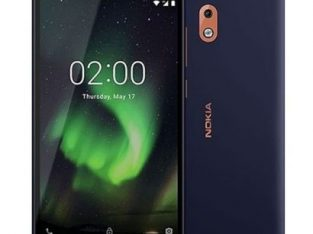Nokia 2.1 5.5-inch HD Display 8GB, 1GB RAM (8MP + 5MP) Dual Sim 4000mAh – Blue Copper