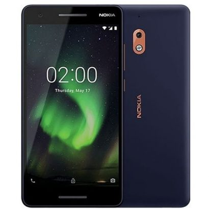 Nokia 2.1 5.5-inch HD Display 8GB, 1GB RAM (8MP + 5MP) Dual Sim 4000mAh – Blue Copper