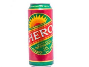 HERO LARGER CAN 500ML x 24 (PACK OF 24)