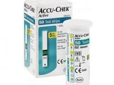 Accu-Chek Glucometer Strips
