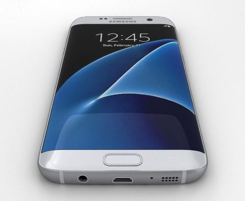 "Samsung Galaxy S7 Edge 5.5"" QHD(4GB+32GB) 12MP+5MP 4G Smartphone-Silver"