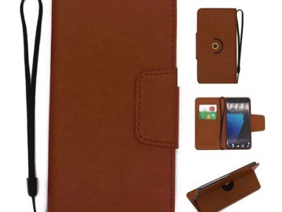 360 Degree Rotating Universal Ultra Slim Durable PU Leather Wallet Case For Tecno Camon CM 5.7 Inch