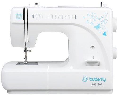 Butterfly Butterfly Electric Sewing Machine – White