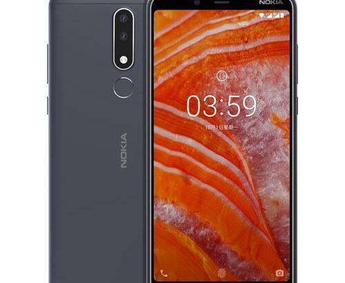 Nokia Nokia 3.1 Plus 6.0'' Android 8.1 Octa Core 2.0GHz 3GB 32GB 13.0MP+5.0MP Fingerprint 3500mAh Ce