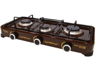 Nulec 3-Burner Table-Top Gas Cooker