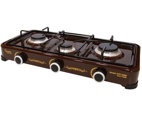Nulec 3-Burner Table-Top Gas Cooker