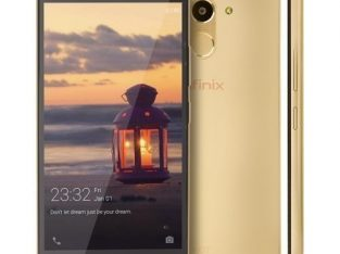 Infinix Hot 4 Pro (X556) 5.5″ HD (2GB, 16GB ROM) 13MP + 5MP Camera ,4G Lte, Smartphone – Champagne G