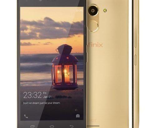 Infinix Hot 4 Pro (X556) 5.5″ HD (2GB, 16GB ROM) 13MP + 5MP Camera ,4G Lte, Smartphone – Champagne G