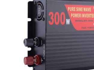 SUVPR DY-LG300S 300W DC 12V To AC 220V Pure Sine Wave Car Power Inverter With Universal Power Socket