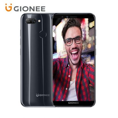 Gionee S11 Lite 5.7-Inch HD Android 7.1 Nougat, 4G LTE Dual SIM Smartphone